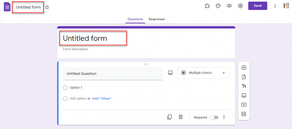 Extended Forms - Update the Form Title in Admin Panel